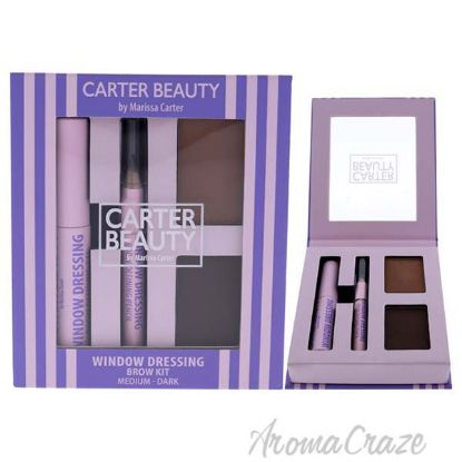 Picture of Window Dressing Brow Kit Medium-Dark by Carter Beauty for Women 3 Pc